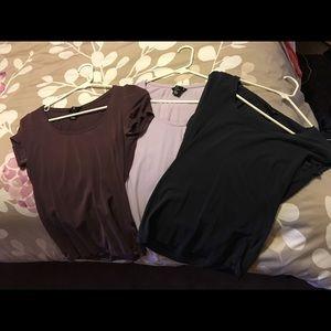 Bundle of 3 t-shirts H&M